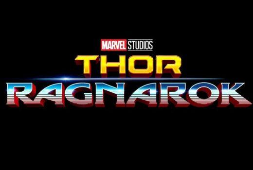 Thor Ragnarok 80s Logo