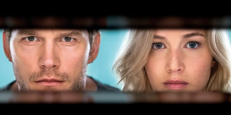 Passengers mit Chris Pratt und Jennifer Lawrence