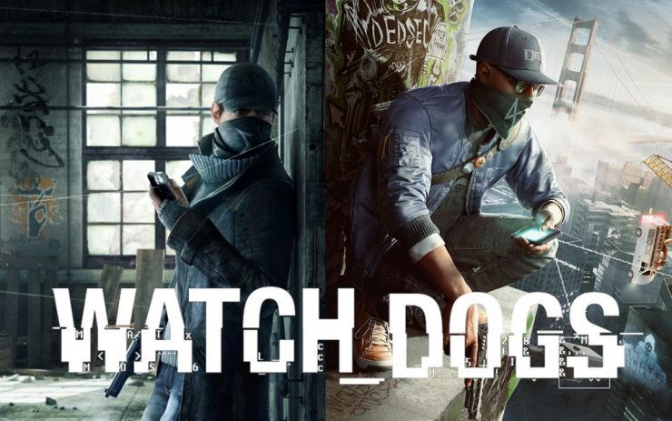 Watch Dogs Aiden Pearce and Marcus Halloway