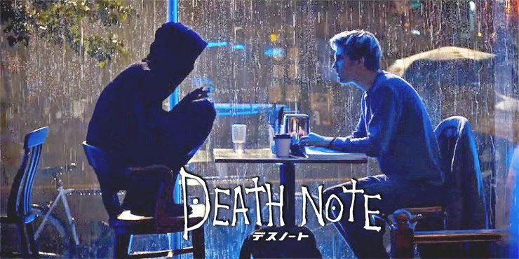 L und Light in Death Note auf Netflix